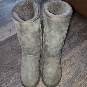Authentic Gray Ugg boots